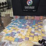 POLÍCIA MILITAR DE SANTA CATARINA FAZ UMA DAS MAIORES APREENSÕES DE DROGAS SINTÉTICAS DO BRASIL, A DROGA VENDIDA NO VAREJO PODERIA A CHEGAR A R$ 10 MILHÕES DE REAIS.